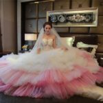 Pink Wedding Dresses: a Good Way to Look Cute and Romantic
